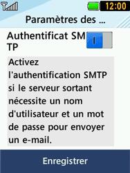 LG T580 - E-mails - Ajouter ou modifier un compte e-mail - Étape 12