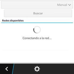 BlackBerry Q5 - Red - Seleccionar una red - Paso 10
