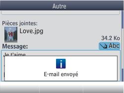 Nokia Asha 201 - E-mail - envoyer un e-mail - Étape 17