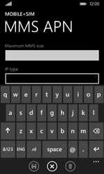 Nokia Lumia 530 - MMS - Manual configuration - Step 10