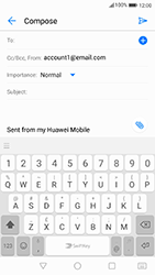 Huawei P10 - Android Oreo - E-mail - Sending emails - Step 5