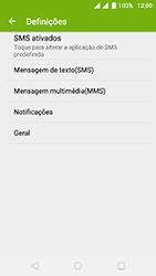Wiko Fever 4G - SMS - Como configurar o centro de mensagens -  5