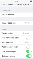 Apple iPhone 5c - e-mail - handmatig instellen - stap 4