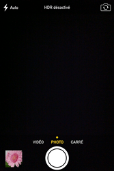 Apple iPhone 4 - Photos, vidéos, musique - Prendre une photo - Étape 6