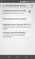 Sony Xpéria E1 Dual - Internet et connexion - Utiliser le mode modem par USB - Étape 9