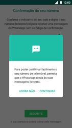 Nokia 5 - Aplicações - Como configurar o WhatsApp -  11
