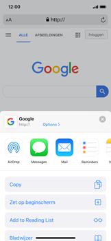 Apple iphone-x-met-ios-13-model-a1901 - Internet - Hoe te internetten - Stap 16