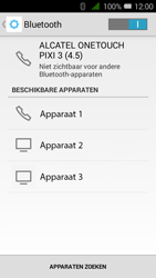 Alcatel OneTouch PIXI 3 (4.5) 3G (OT-4027X) - Bluetooth - Headset, carkit verbinding - Stap 6
