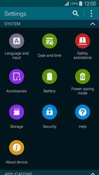 Samsung Galaxy S5 G900F - Network - Installing software updates - Step 5
