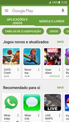 Samsung Galaxy S7 - Android Nougat - Aplicações - Como pesquisar e instalar aplicações -  5