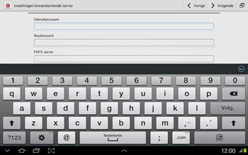 Samsung N8020 Galaxy Note 10-1 LTE - E-mail - Handmatig instellen - Stap 9