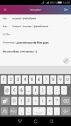 Huawei Huawei Y5 II - E-mail - Hoe te versturen - Stap 10