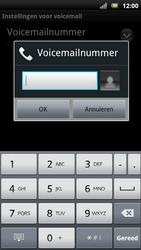 Sony Ericsson Xperia Neo - Voicemail - handmatig instellen - Stap 8