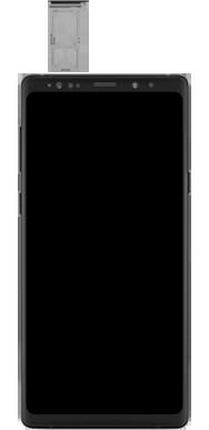 Samsung Galaxy Note 9 - Premiers pas - Insérer la carte SIM - Étape 3