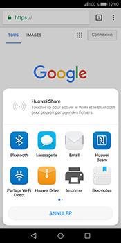 Huawei P Smart - Internet - navigation sur Internet - Étape 20