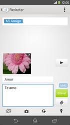 Sony Xperia M2 - Mensajería - Escribir y enviar un mensaje multimedia - Paso 19
