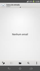 Sony C5303 Xperia SP - Email - Como configurar seu celular para receber e enviar e-mails - Etapa 19