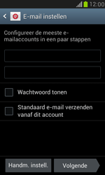 Samsung I8190 Galaxy S III Mini - E-mail - Account instellen (POP3 met SMTP-verificatie) - Stap 6