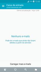 Samsung Galaxy S4 LTE - Email - Adicionar conta de email -  4