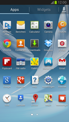 Samsung N7100 Galaxy Note II - Netwerk - Handmatig netwerk selecteren - Stap 6