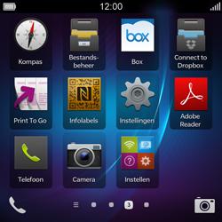 BlackBerry Q5 - Bellen - in het buitenland - Stap 3