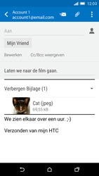 HTC One M9 - E-mail - hoe te versturen - Stap 16