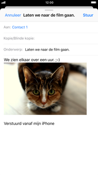 Apple iPhone 8 Plus - E-mail - hoe te versturen - Stap 14