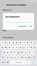Samsung G930 Galaxy S7 - Android Nougat - Internet - Handmatig instellen - Stap 14