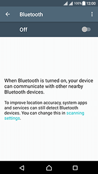 Sony Xperia L1 - WiFi and Bluetooth - Setup Bluetooth Pairing - Step 5