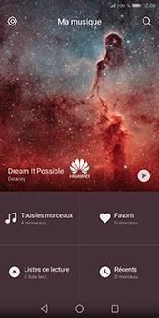 Huawei P Smart - Photos, vidéos, musique - Ecouter de la musique - Étape 4