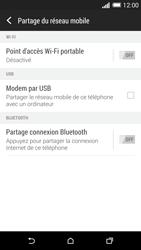 HTC One (M8) - Internet et connexion - Utiliser le mode modem par USB - Étape 6