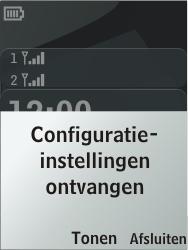 Nokia 206 Dual Sim - Automatisch instellen - Automatisch Internet instellen - Stap 3