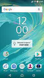 Sony Xperia XA - Android Nougat - WiFi and Bluetooth - Manual configuration - Step 1