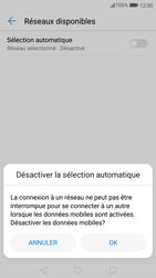 Huawei P10 Lite - Réseau - Sélection manuelle du réseau - Étape 6