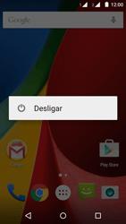 Motorola Moto G (2ª Geração) - Funções básicas - Como reiniciar o aparelho - Etapa 3