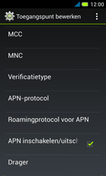 Acer Liquid Z4 - Internet - Handmatig instellen - Stap 14