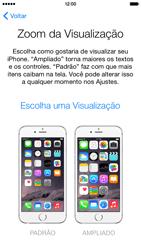 Apple iPhone iOS 8 - Primeiros passos - Como ativar seu aparelho - Etapa 24