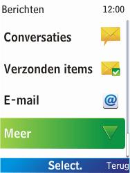 Nokia X2-00 - Voicemail - Handmatig instellen - Stap 4