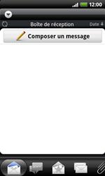 HTC A7272 Desire Z - E-mail - Configurer l