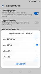 Huawei P9 - Android Nougat - Netwerk - Wijzig netwerkmodus - Stap 6