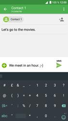 Alcatel Shine Lite - Mms - Sending a picture message - Step 13