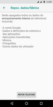 Motorola Moto G6 - Repor definições - Como repor definições de fábrica do telemóvel -  8