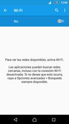 Sony Xperia Z5 - WiFi - Conectarse a una red WiFi - Paso 5
