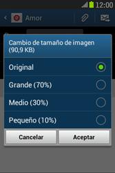 Samsung S6310 Galaxy Young - E-mail - Escribir y enviar un correo electrónico - Paso 14