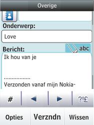 Nokia C2-03 - E-mail - e-mail versturen - Stap 12