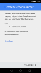 Huawei P8 - Applicaties - Account aanmaken - Stap 7