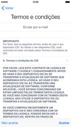 Apple iPhone iOS 8 - Primeiros passos - Como ativar seu aparelho - Etapa 17
