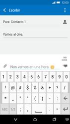 HTC One M9 - Mensajería - Escribir y enviar un mensaje multimedia - Paso 13