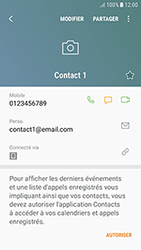 Samsung Galaxy J3 (2017) - Contact, Appels, SMS/MMS - Ajouter un contact - Étape 12