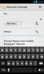 Bouygues Telecom Bs 401 - E-mails - Envoyer un e-mail - Étape 9